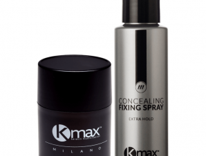 KMax Milano Perfect Kit – Fixing Spray 100ml & Fibers Πυρόξανθο Regular 15gr